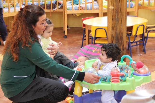Educadoras de p rvulos de la regi n celebran su d a for Adaptacion jardin infantil
