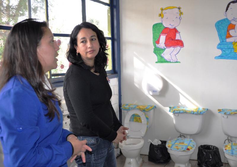 Baño Para Jardin Infantil:Jardín Infantil cuenta con nuevas instalaciones para recibir a