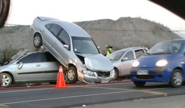 Imagen muestra otro accidente ocurrido en enero de 2013