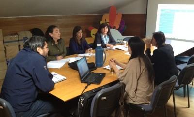 Reunión de coordinación proyecto