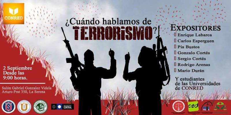 afiche congreso terrorismo