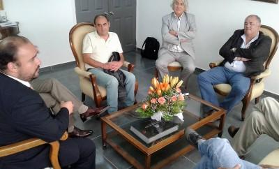 Reunión con alcalde de Coquimbo