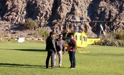Arriero-Helicoptero