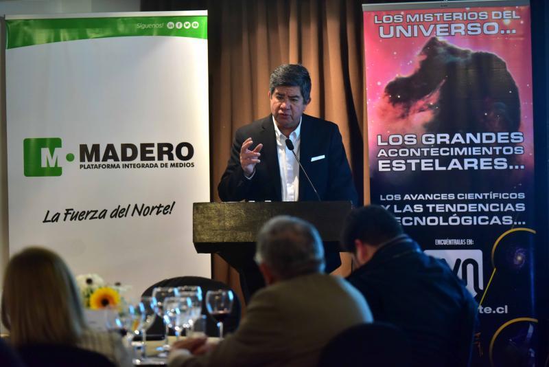 Percival Madero, Gerente de Empresas Madero.