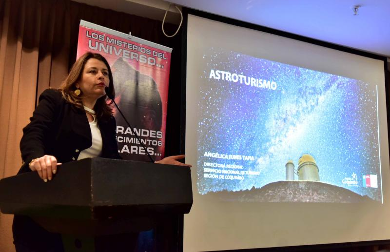 Directora regional de Sernatur, Angélica Funes
