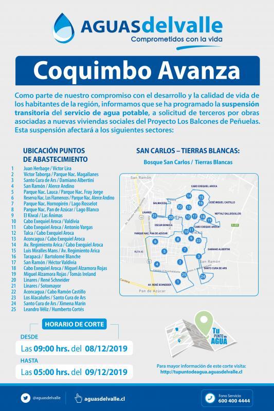 ADV AFICHE CORTE SAN CARLOS 08-12-19
