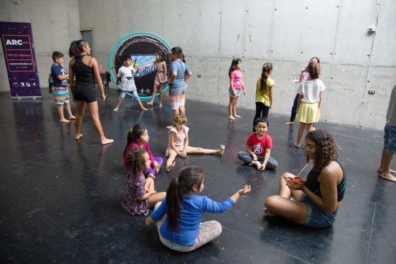 Los Vilos_circo para niños