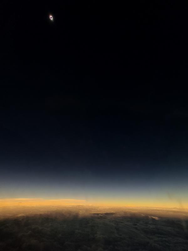 Foto de Tomás Westenenk desde el aire con un Galaxy S20 FE