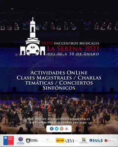 AFICHE GENERAL Encuentros Musicales de La Serena