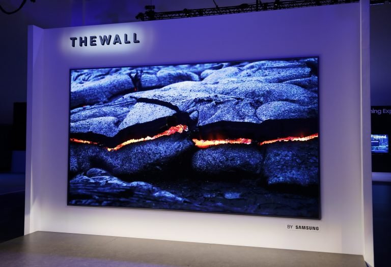 CES 2018 The Wall