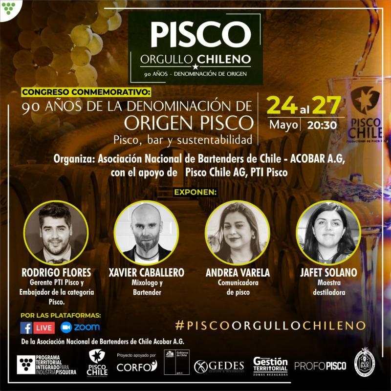 Pisco-Congreso 24 al 27