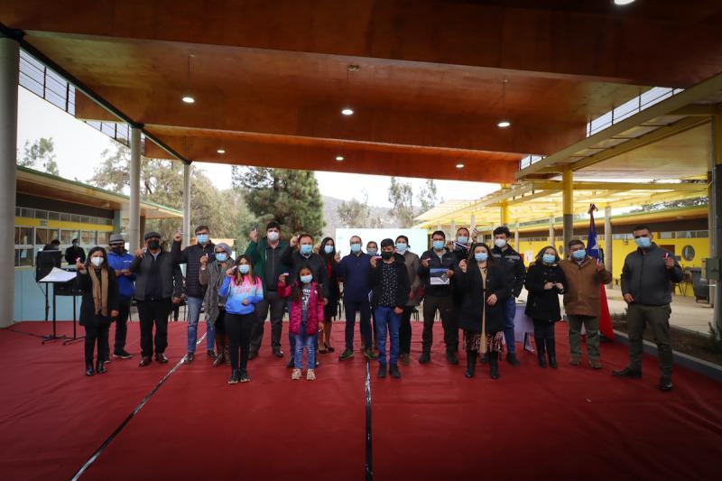 Inauguración Obras Esc Caimanes (1)
